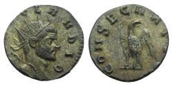 Ancient Coins - Divus Claudius II (died AD 270). Radiate. Rome. R/ EAGLE