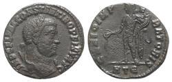 Ancient Coins - Constantine I (307/310-337). Æ Follis. Heraclea, AD 310.  R/ GENIUS RARE