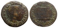 Ancient Coins - Tiberius (14-37). Spain, Italica. Æ As