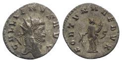 Ancient Coins - Gallienus(253-268). Antoninianus. Siscia, 265-7. R/ FORTUNA