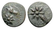 Ancient Coins - Pontos, Uncertain, c. 130-100 BC. Æ - Horse / Comet
