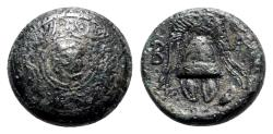 Ancient Coins - Kings of Macedon. Alexander III 'the Great' (336-323 BC). Æ Half Unit