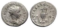 Ancient Coins - Herennius Etruscus (Caesar, 249-251). AR Antoninianus