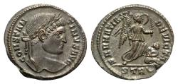 Ancient Coins - Constantine I (307/310-337). Æ Follis - Treveri - R/ Victory