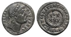 Ancient Coins - Constantine I (307/310-337). Æ Follis. Heraclea, 327-9.  R/ VOT/ XXX