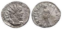 Ancient Coins - Postumus (260-269). AR Antoninianus - Treveri - R/ Providentia