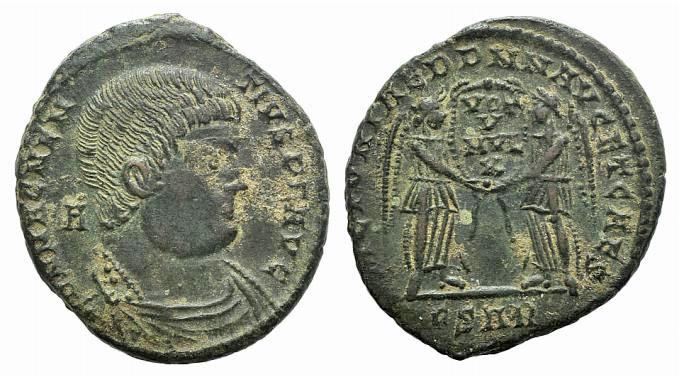 Ancient Coins - Magnentius (350-353). Æ Centenionalis. Arelate, 351-352.