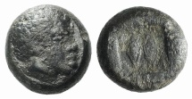 Ancient Coins - Lesbos, unattributed early mint. BI 1/12 Stater c. 450. African head