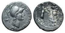 Cnaeus Pompey Jr., Corduba, Summer 46-Spring 45 BC. AR Denarius
