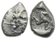 Ancient Coins - Pamphylia, Aspendos, c. 465-430 BC. AR Stater (
