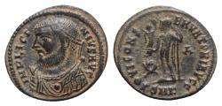 Ancient Coins - Licinius I (308-324). Æ Follis - Cyzicus - R/ Jupiter