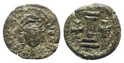 Ancient Coins - Maurice Tiberius (582-602). Æ 10 Nummi. Uncertain mint. RARE