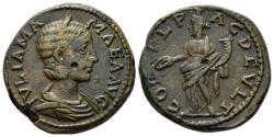 Ancient Coins - Thrace, Deultum Julia Mamaea, mother of Severus Alexander Bronze circa 222-235, Æ 23mm