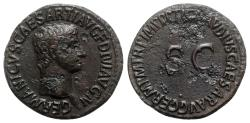Ancient Coins - Germanicus (died AD 19). Æ As - Rome