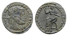 Ancient Coins - Divus Maximianus (died AD 310). Æ Half Follis - Siscia