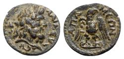 Ancient Coins - Phrygia, Apamea. Pseudo-autonomous, time of Septimius Severus to Macrinus (193-218). Æ, Eagle.