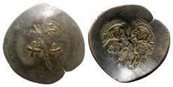 Ancient Coins - Theodore II Ducas-Lascaris (Emperor of Nicaea, 1254-1258). BI Aspron Trachy, Magnesia.