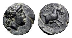 Ancient Coins - Ionia, Kolophon, c. 360-330 BC. Æ