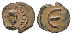 Ancient Coins - Maurice Tiberius (582-602). Æ 5 Nummi. Nicomedia.