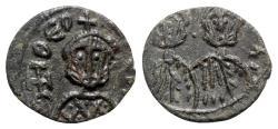 Ancient Coins - Theophilus (829-842). Æ 40 Nummi - Syracuse