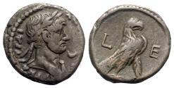 Ancient Coins - Hadrian (117-138). Egypt, Alexandria. BI Tetradrachm - year 5 - R/ Eagle