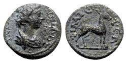 Ancient Coins - Lydia, Philadelphia. Pseudo-autonomous issue, c. 2nd-3rd century AD. Æ, Stag.