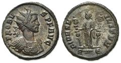 Ancient Coins - Probus (276-282). Radiate. Rome, AD 281.  R/ Fides