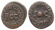 Ancient Coins - GAIUS CALIGULA. 37-41 AD. Æ Quadrans. Struck 40-41 AD