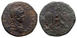 Ancient Coins - Severus Alexander (222-235). Moesia Inferior, Tomis. Æ Tetrassarion - R/ Eagle