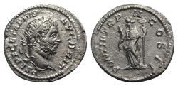 Ancient Coins - Geta (209-211). AR Denarius - Rome - R/ Felicitas