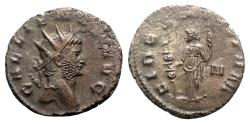 Ancient Coins - Gallienus (253-268). Antoninianus - Rome - R/ Fides