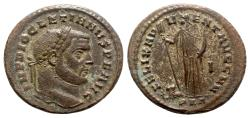 Ancient Coins - Diocletian (284-305). Æ Follis - Carthage - R/ Africa