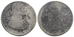 World Coins - Mexico, Carlos IV (1788-1808). AR 8 Reales 1793 FM, Mexico City