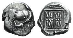 Ancient Coins - ILLYRIA, Dyrrhachion. Circa 340-280 BC. AR Stater