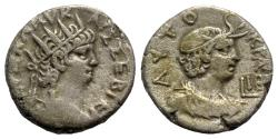 Ancient Coins - Nero (54-68). Egypt, Alexandria. BI Tetradrachm - year 12
