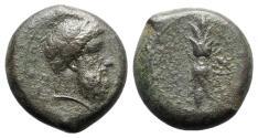 Ancient Coins - Sicily, Syracuse, c. 339/8-334 BC. Æ Hemidrachm