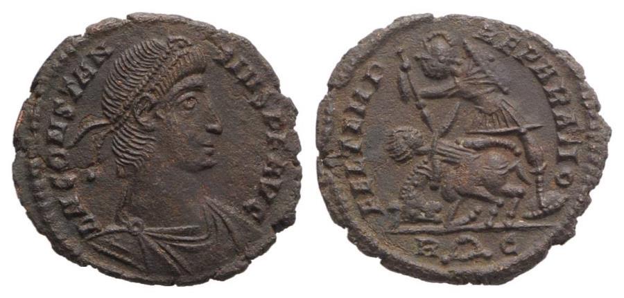 Ancient Coins - Constantius II (337-361). Æ 17.5mm. Rome.