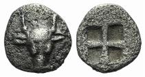 Ancient Coins - Troas, Lamponeia, 4th century BC. AR Hemiobol