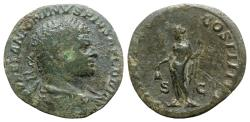 Ancient Coins - Caracalla (198-217). Æ Sestertius. Rome, AD 213. R/ LIBERTAS