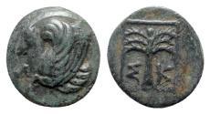 Ancient Coins - Troas, Skepsis, c. 400-310 BC. Æ