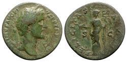 Ancient Coins - Antoninus Pius (138-161). Æ Sestertius - Rome - R/ Felicitas
