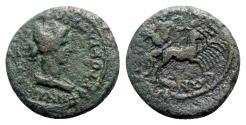 Ancient Coins - Lydia, Nysa. Pseudo-autonomous, time of Domitian (81-96). Æ - Eirene / Kore