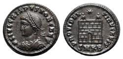 Ancient Coins - Crispus (Caesar, 316-326). Æ Follis - Cyzicus