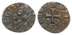 Ancient Coins - CRUSADERS Italy, Venezia. Antonio Venier (1382-1400). BI Tornesello. Cross. R/ Winged lion