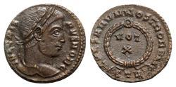 Ancient Coins - Crispus (Caesar, 316-326). Æ Follis - Treveri