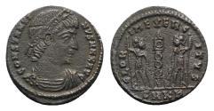Ancient Coins - Constantine I (307/310-337). Æ Follis - Cyzicus