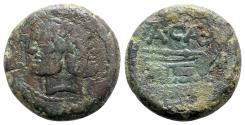 Ancient Coins - A. Caecilius, Rome, 169-158 BC. Æ As