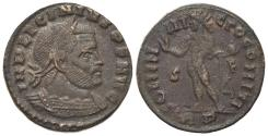 Ancient Coins - Licinius I (308-324). Æ Follis. Rome, 315-6. R/ SOL
