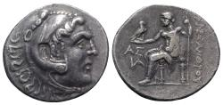 Ancient Coins - Pamphylia, Aspendos, c. 212/11-184/3 BC. AR Tetradrachm. In the name and types of Alexander III of Macedon.