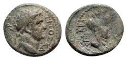 Ancient Coins - Titus (Caesar, 69-79). Decapolis, Gadara. Æ